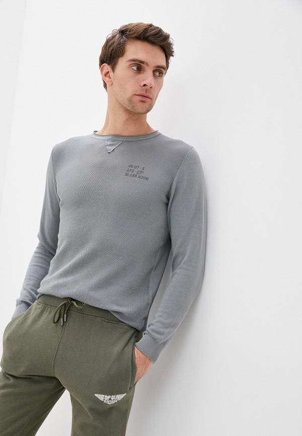 мужской джемпер avirex, серый