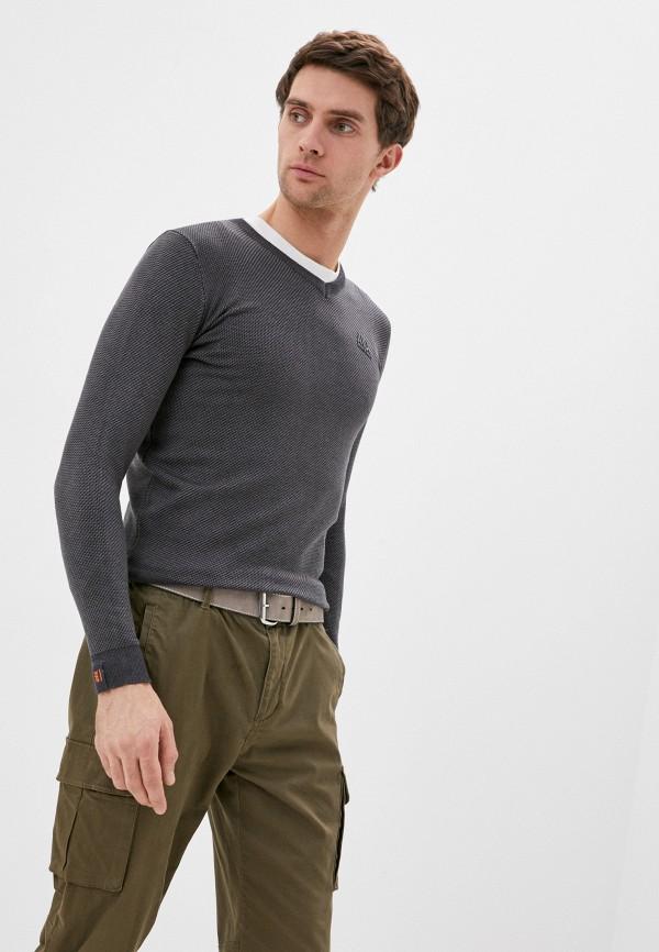 мужской пуловер avirex, серый