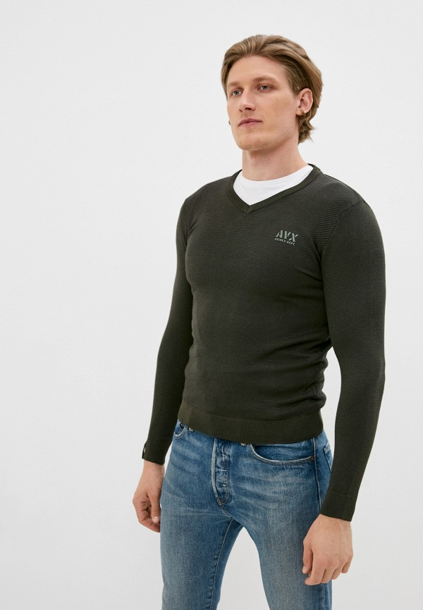 мужской пуловер avirex, зеленый