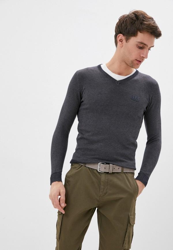 мужской пуловер avirex, синий