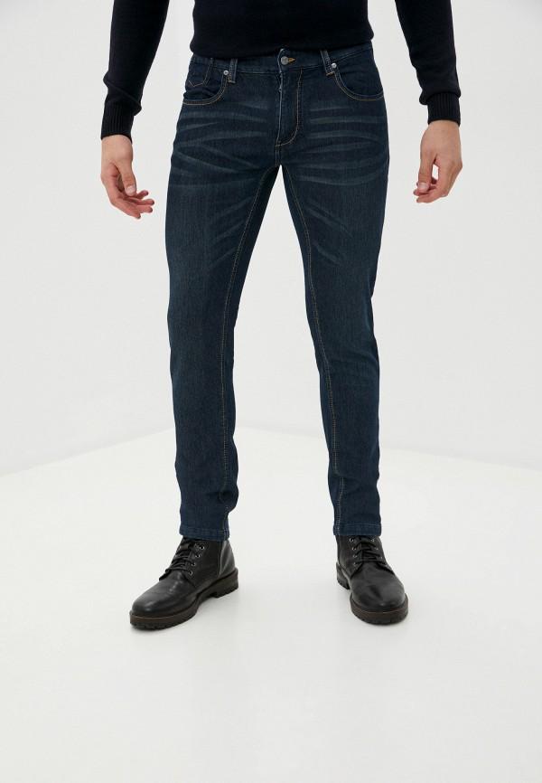 мужские зауженные джинсы avirex, синие