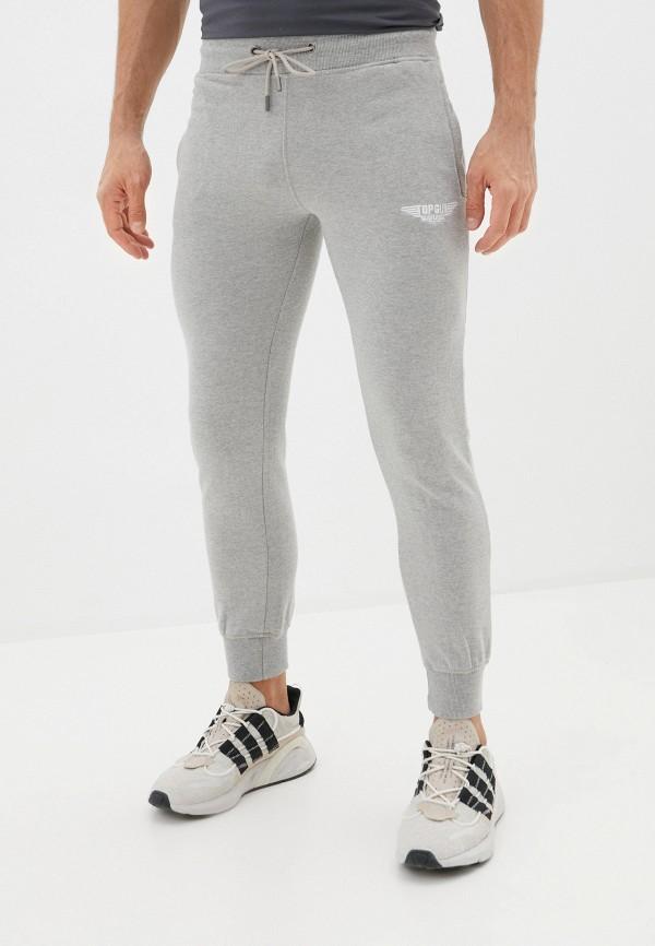 мужские спортивные брюки avirex, серые