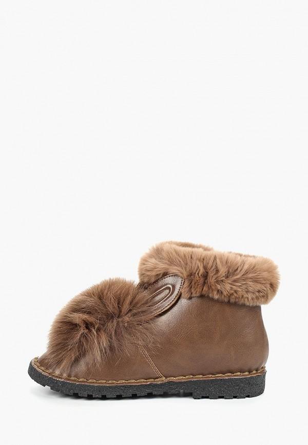женские ботинки avenir, коричневые