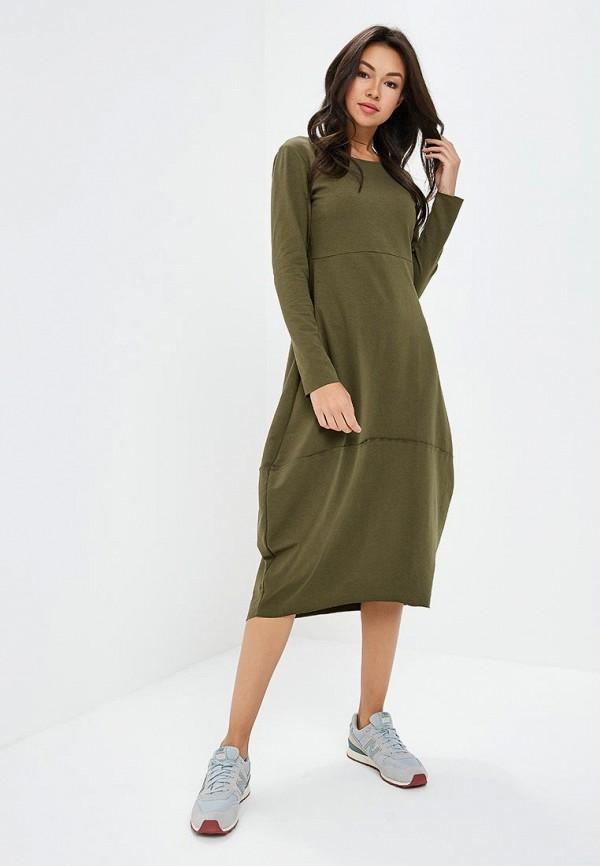 Купить Платье Awama, Awama AW003EWCJCS2, хаки, Осень-зима 2018/2019