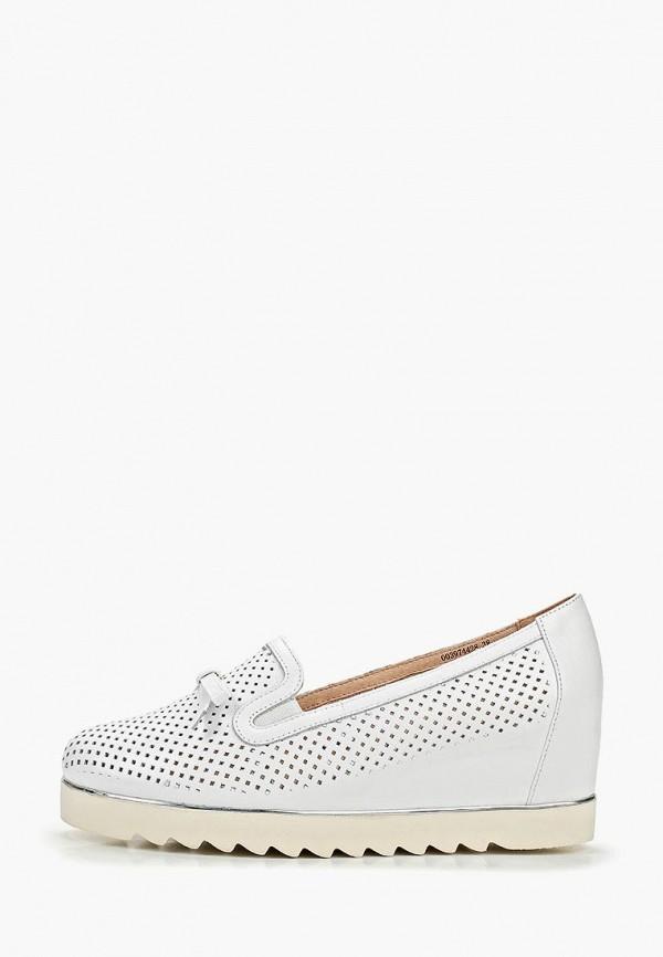 женские туфли balex, белые