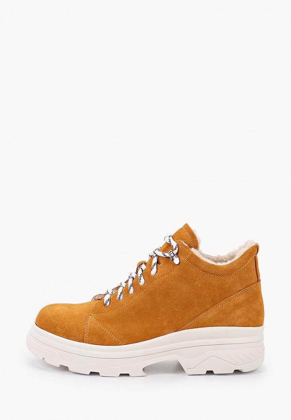 женские ботинки balex, коричневые