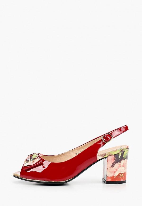 женские босоножки balex, красные