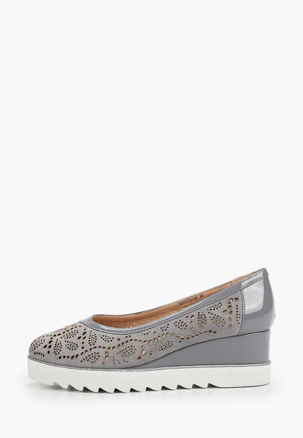 женские туфли balex, серые
