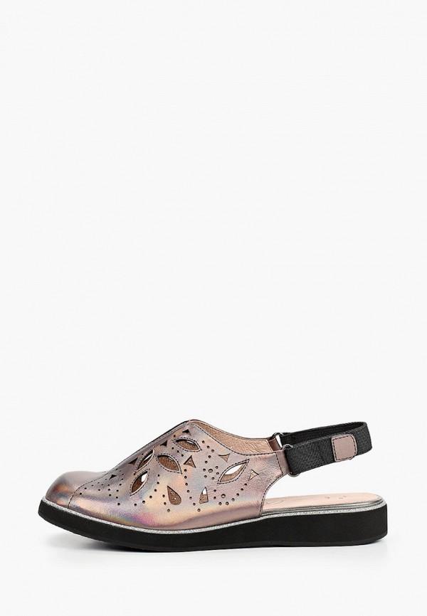 женские сандалии balex, серебряные