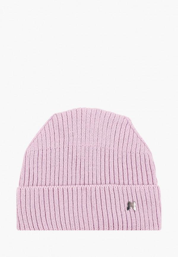 шапка baon для девочки, фиолетовая