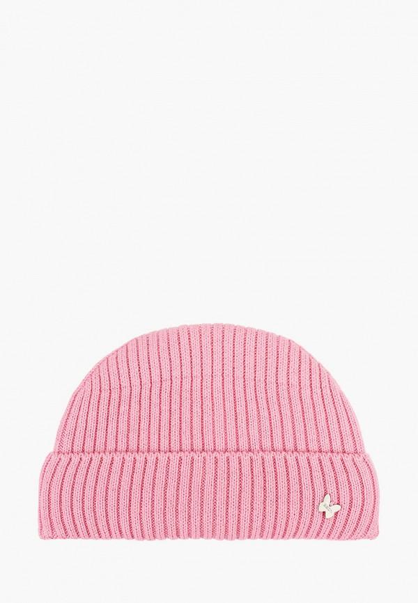 шапка baon для девочки, розовая
