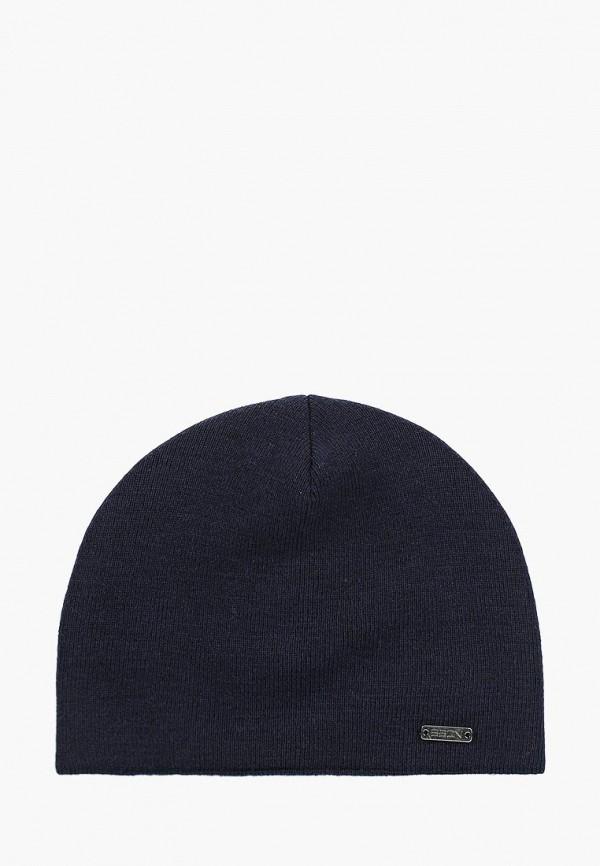 Купить Мужскую шапку Baon синего цвета