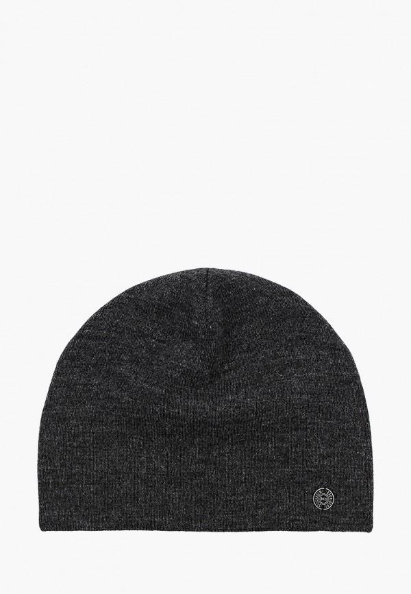 мужская шапка baon, серая