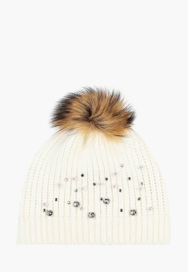 женская шапка baon, белая