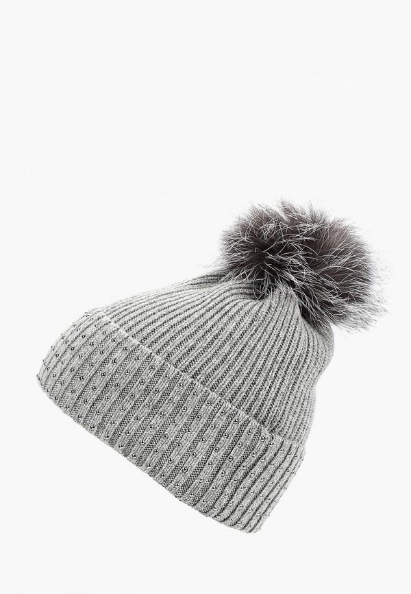 Купить Шапка Baon, Baon BA007CWCKZP3, серый, Осень-зима 2018/2019