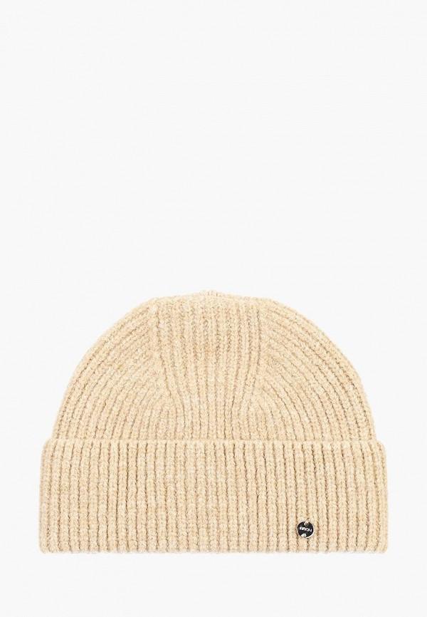 женская шапка baon, бежевая