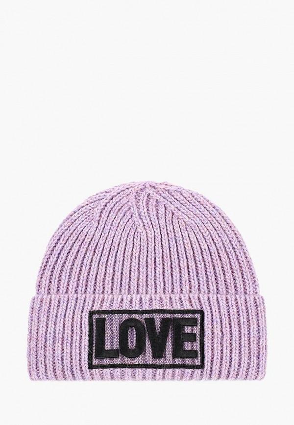 женская шапка baon, фиолетовая