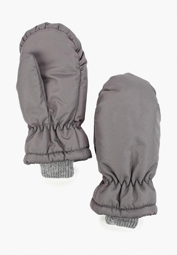 варежки baon для девочки, серые