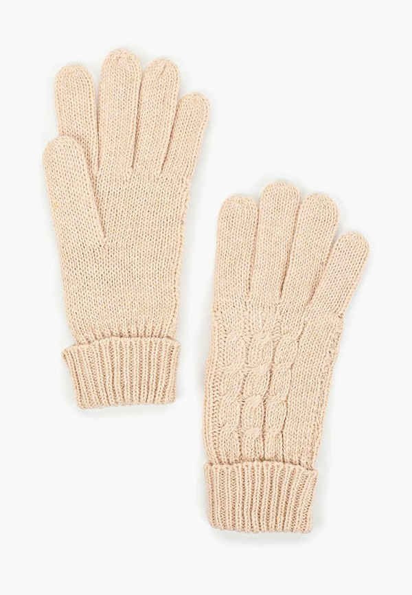 женские перчатки baon, бежевые