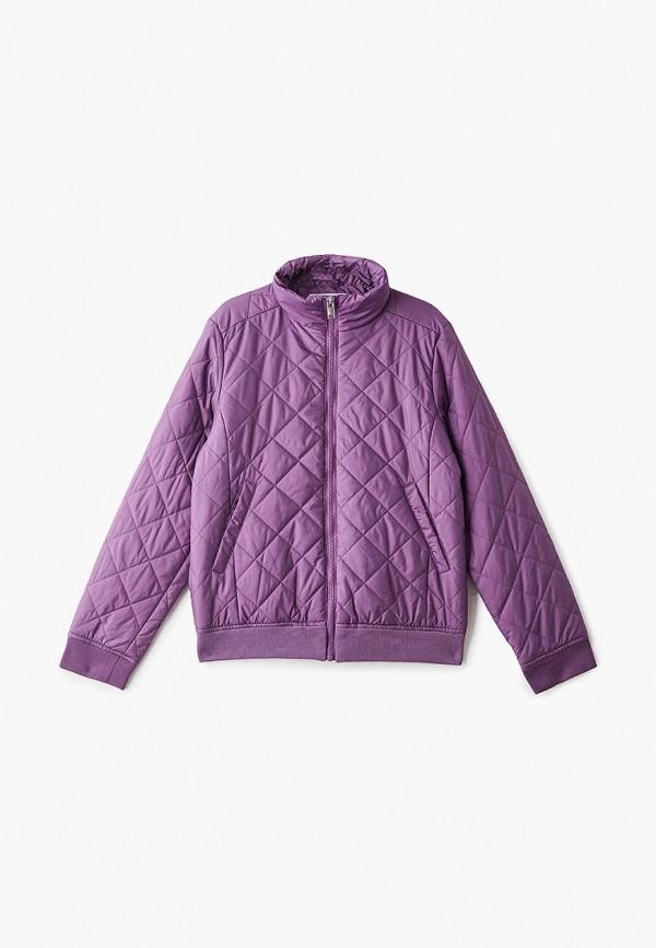 куртка baon для мальчика, фиолетовая