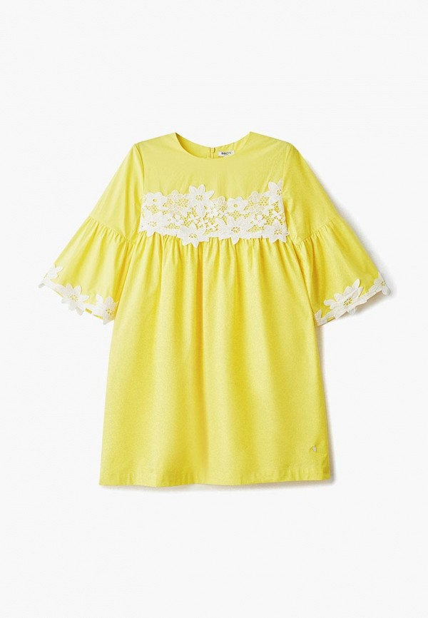 повседневные платье baon для мальчика, желтое