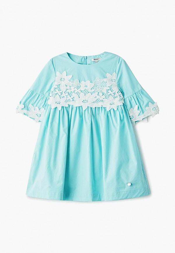 повседневные платье baon для мальчика, бирюзовое