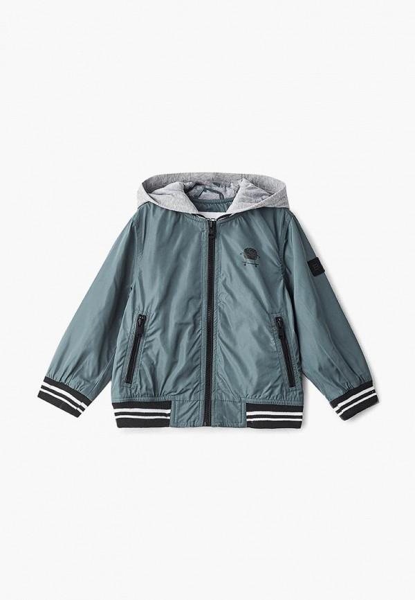 куртка baon для мальчика, серая