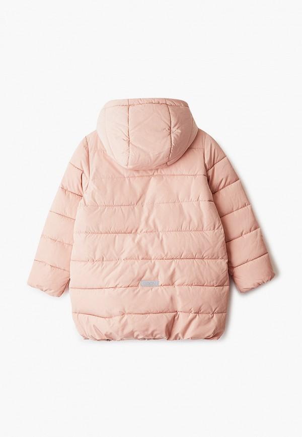 Фото 2 - Куртку утепленная Baon розового цвета
