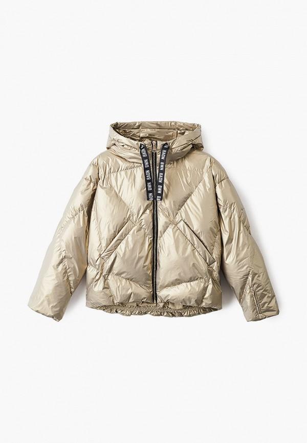 утепленные куртка baon малыши, золотая