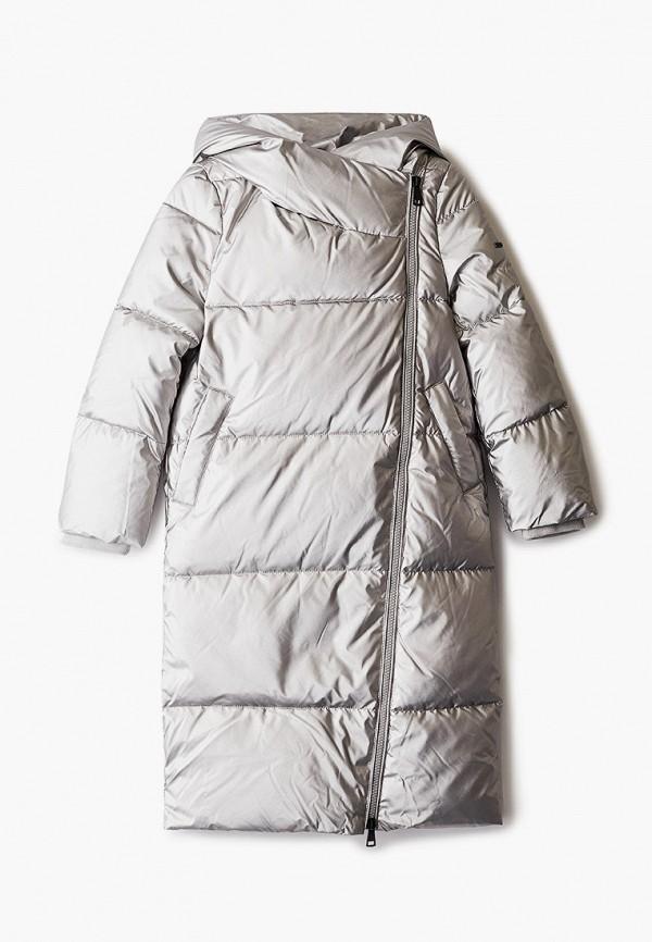 утепленные куртка baon малыши, серебряная