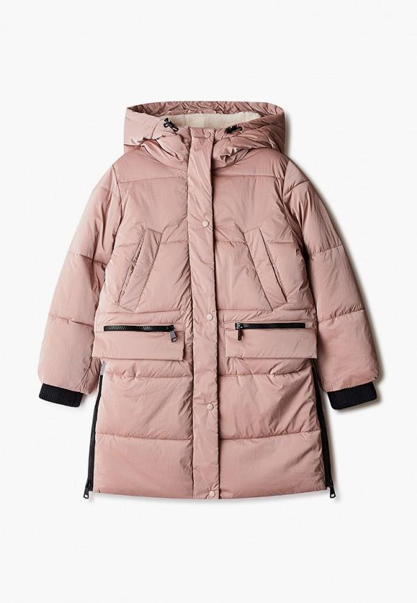 куртка baon для девочки, розовая