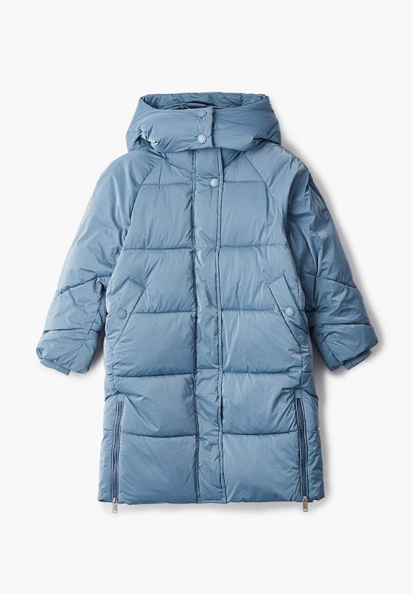 куртка baon для девочки, голубая