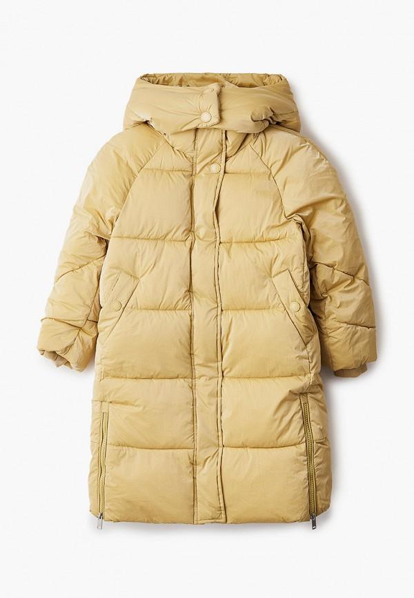 куртка baon для девочки, желтая