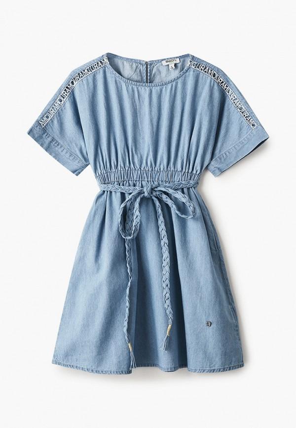 повседневные платье baon малыши, голубое