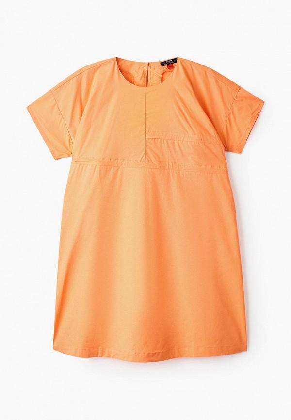 повседневные платье baon малыши, оранжевое