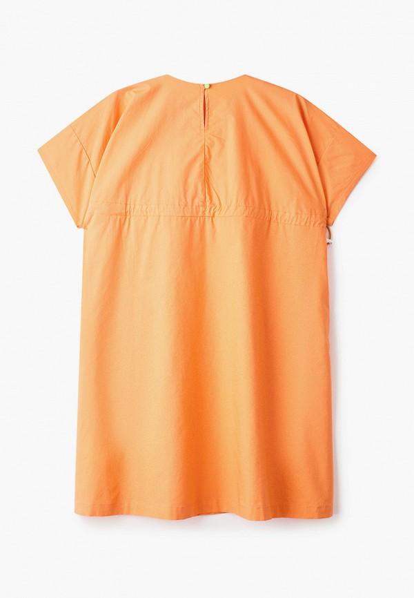 Фото 2 - Платье Baon оранжевого цвета