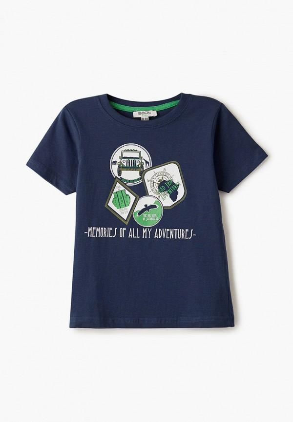 футболка с коротким рукавом baon малыши, синяя