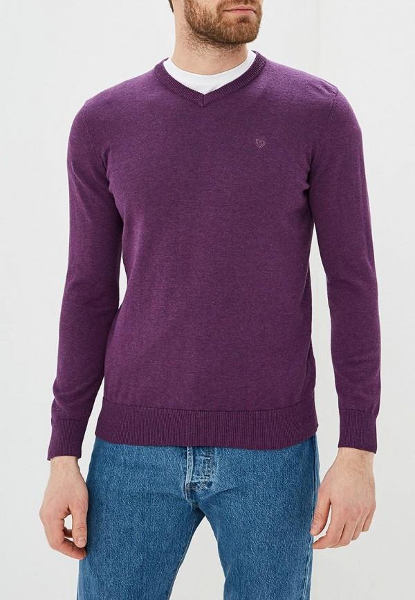 мужской пуловер baon, фиолетовый