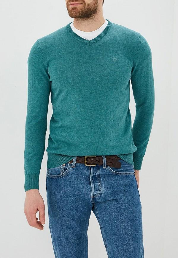 мужской пуловер baon, зеленый