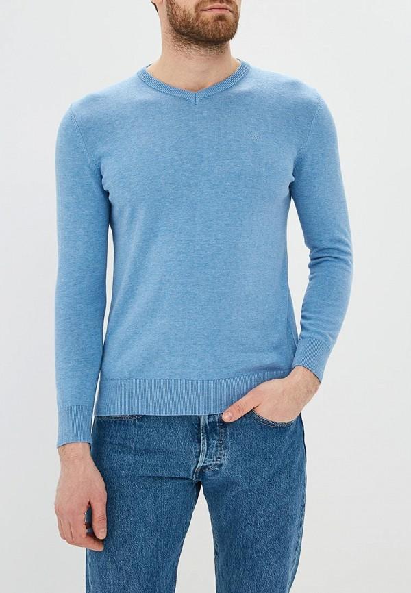мужской пуловер baon, голубой