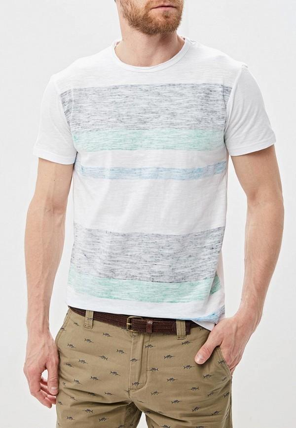 Фото - мужскую футболку Baon белого цвета