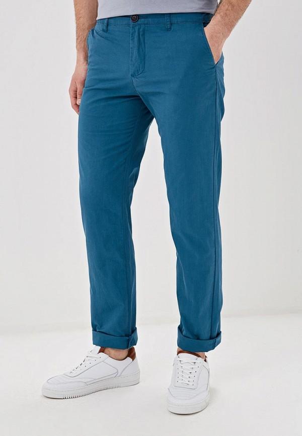мужские брюки чинос baon, бирюзовые