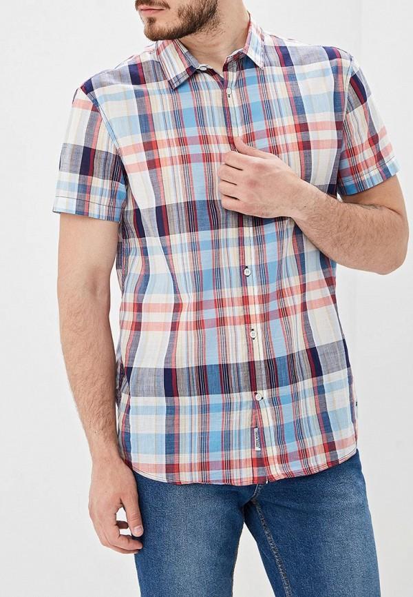 мужская рубашка с коротким рукавом baon, разноцветная