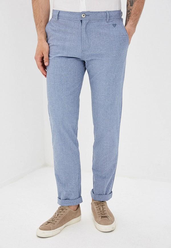 мужские повседневные брюки baon, голубые