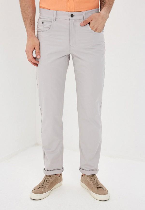 мужские прямые брюки baon, серые