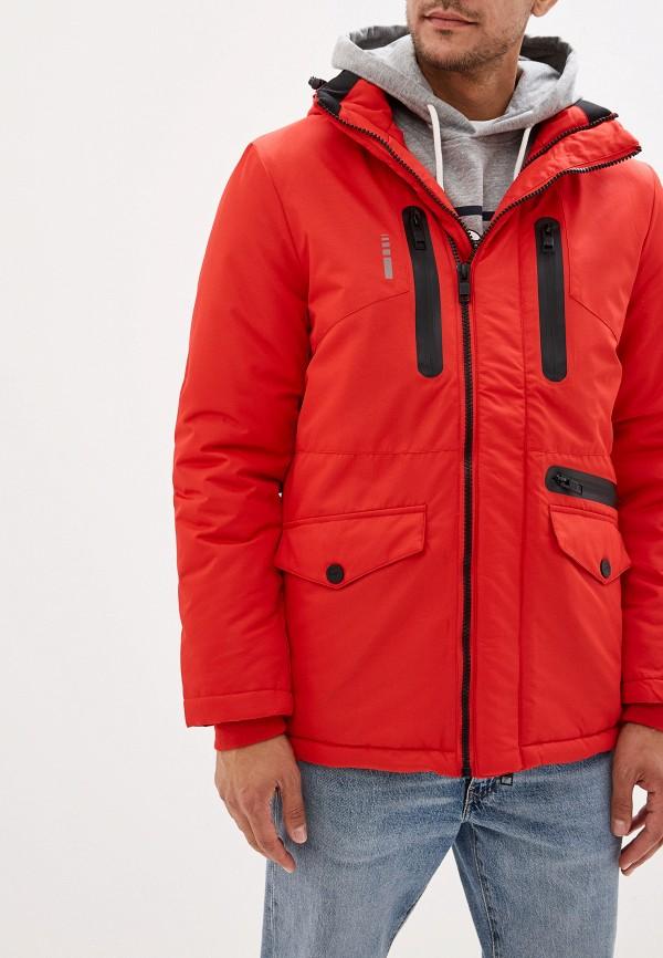мужская куртка baon, красная