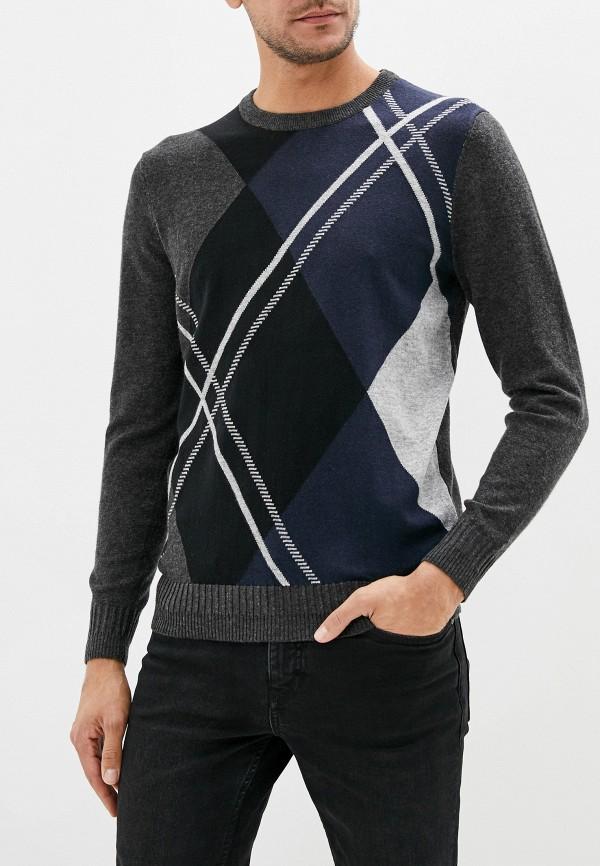 мужской джемпер baon, серый