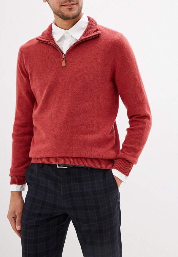 мужской джемпер baon, бордовый
