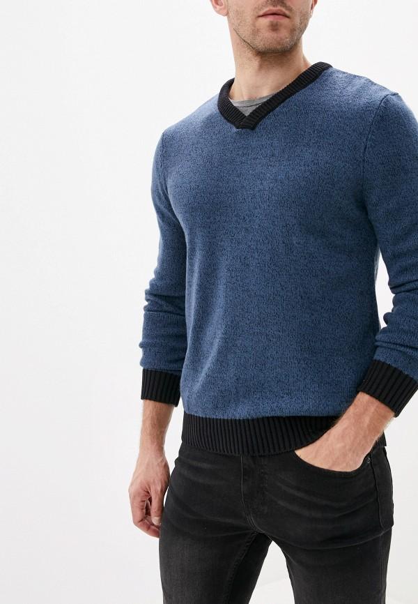 мужской пуловер baon, синий