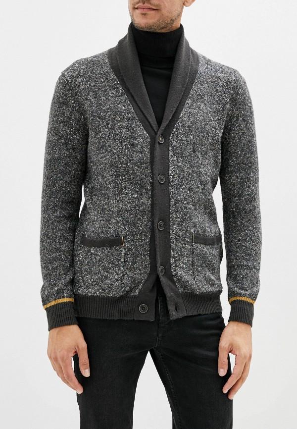 мужской кардиган baon, серый